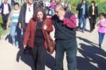 Intendenta Prof. Ana Olivera y Alcalde Francisco Fleitas (Pancho)