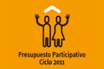 Logo Presupuesto Participativo 2011