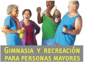 Gimnasia y recreación para personas mayores