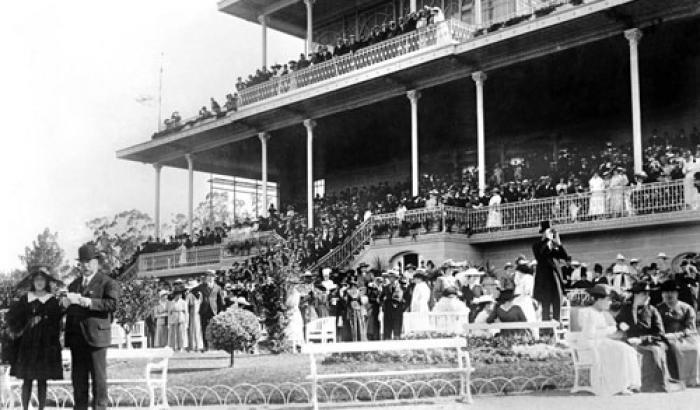 Hipódromo de Maroñas. Año 1917 (Foto 1261 FMH.CMDF.IMM.UY)