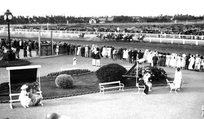 Hipódromo de Maroñas. Año 1917 (Foto 1754 FMH.CMDF.IMM.UY)