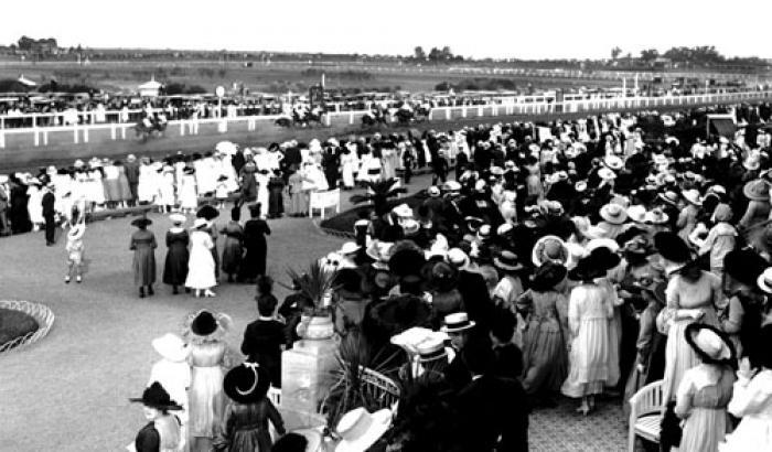 Hipódromo de Maroñas. Año 1918 (Foto 1755 FMH.CMDF.IMM.UY)