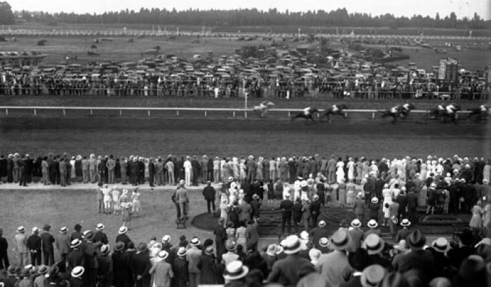 Hipódromo de Maroñas. Año 1933 (Foto 182d FMH.CMDF.IMM.UY)
