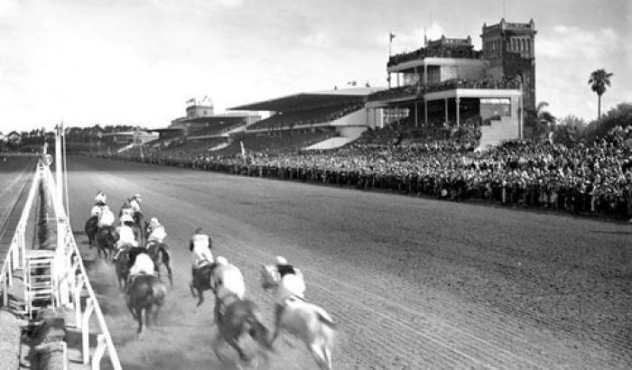 Hipódromo de Maroñas. Año 1933 (Foto 8343 FMH.CMDF.IMM.UY)