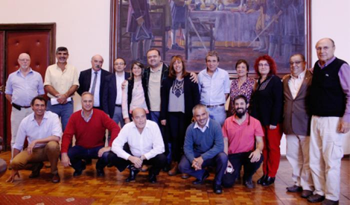 Firma de Compromisos de Gestión Intendente y Alcaldes