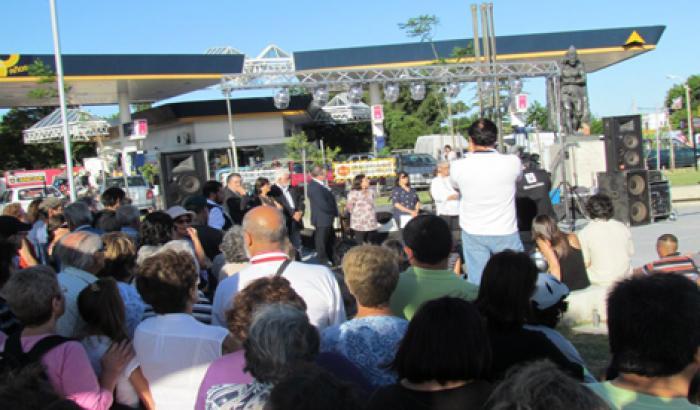 Inauguración Plaza Museo-Memoria