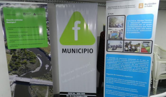 Banners de Municipio F y COMMAC