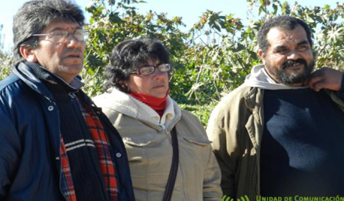 Integrantes del concejo vecinal Nueve
