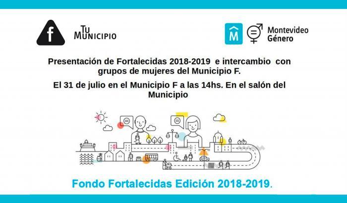 Fortalecidas 2018 - Fondo para el Empoderamiento de las Mujeres