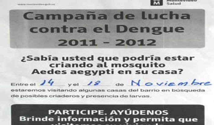 Campaña de lucha contra el Dengue 2011-2012.