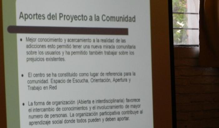 """Seminario """"Drogas en Contextos de Exclusión Social. Mojones y retos en caminos a"""