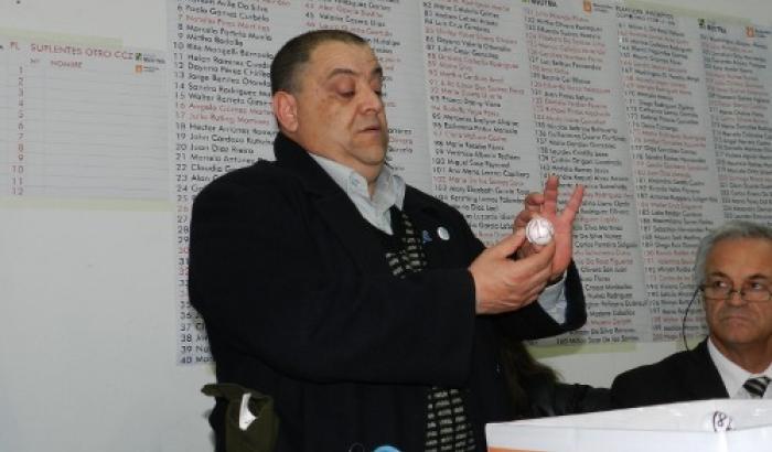 Alcalde Francisco Fleitas saca bolilla