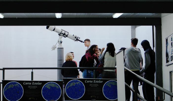 Observatorio astronómico - Liceo nº 58 Mario Benedetti