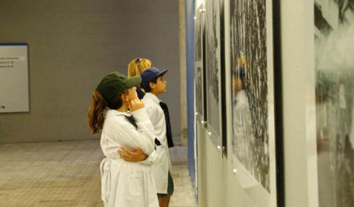 """Intercambiador Belloni - Muestra fotográfica """"Huelga General de 1973"""""""